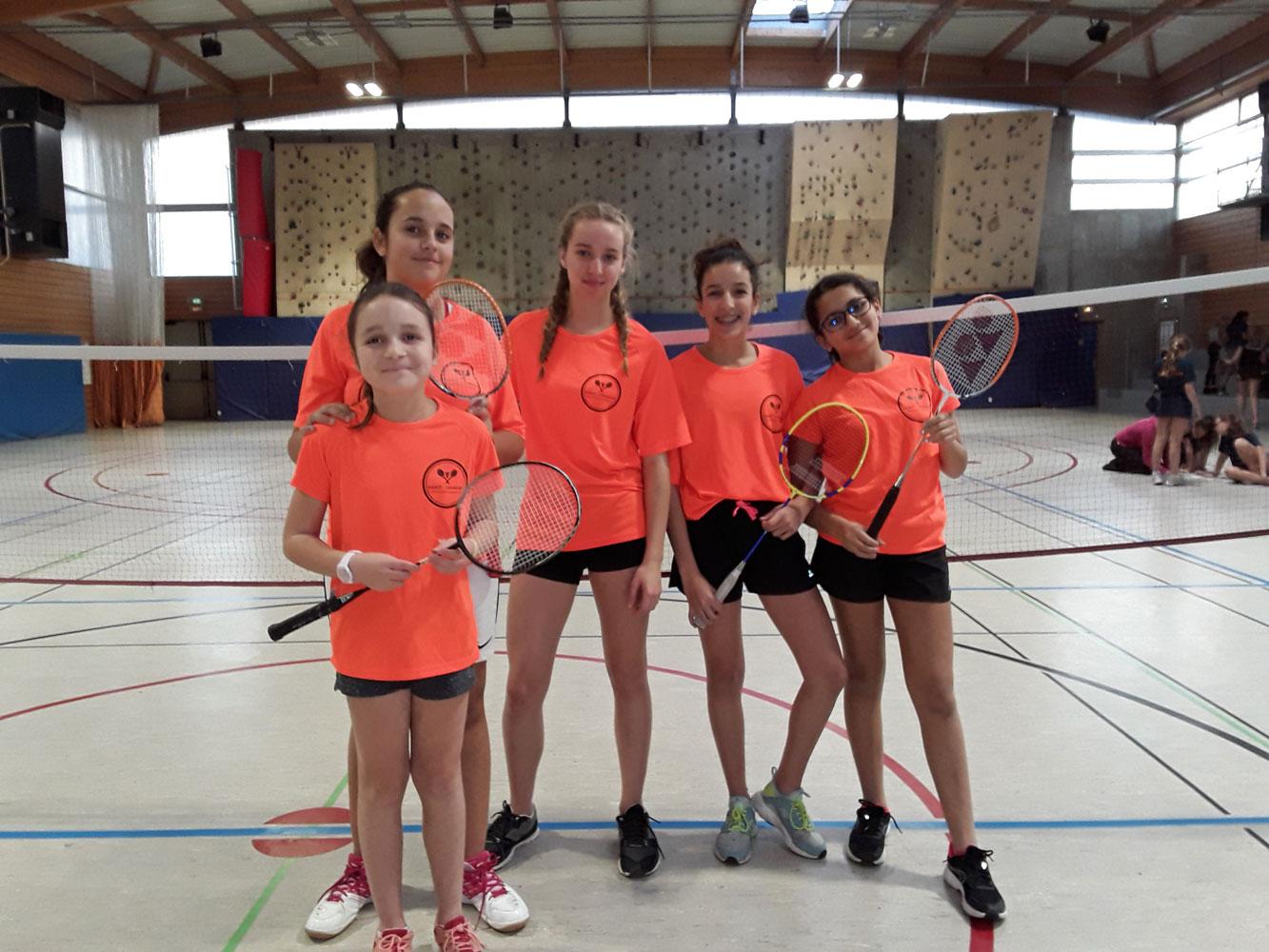 Championnat du Rhône Badminton par équipes
