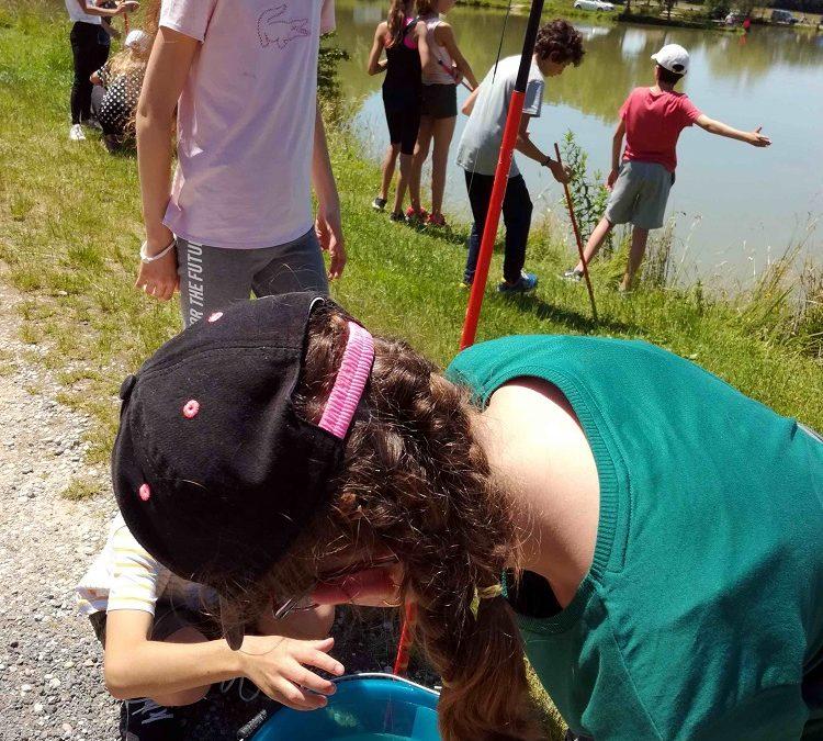 Initiation pêche pour les CM2 17 juin 2019