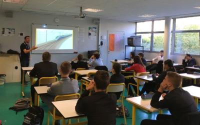 Prévention ferroviaire et découverte des métiers de la SNCF au lycée St-Charles
