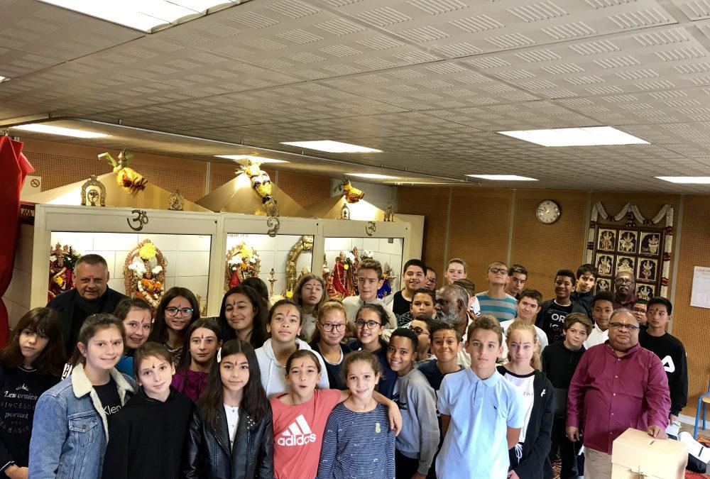 Journée d'itinérance religieuse des classes de 5ème de Saint Charles Rillieux-la-pape le mardi 24 septembre 2019