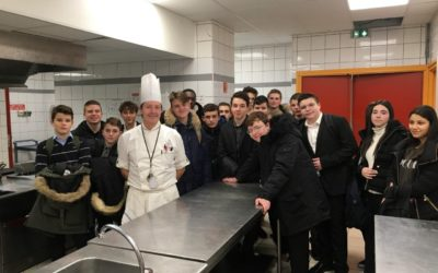 Découverte du lycée hôtelier Jehanne de France à Lyon pour les 3e Prépa Métiers