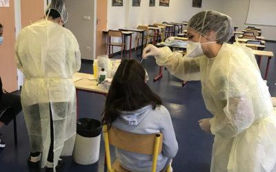 Journée de dépistage COVID massif au lycée St Charles